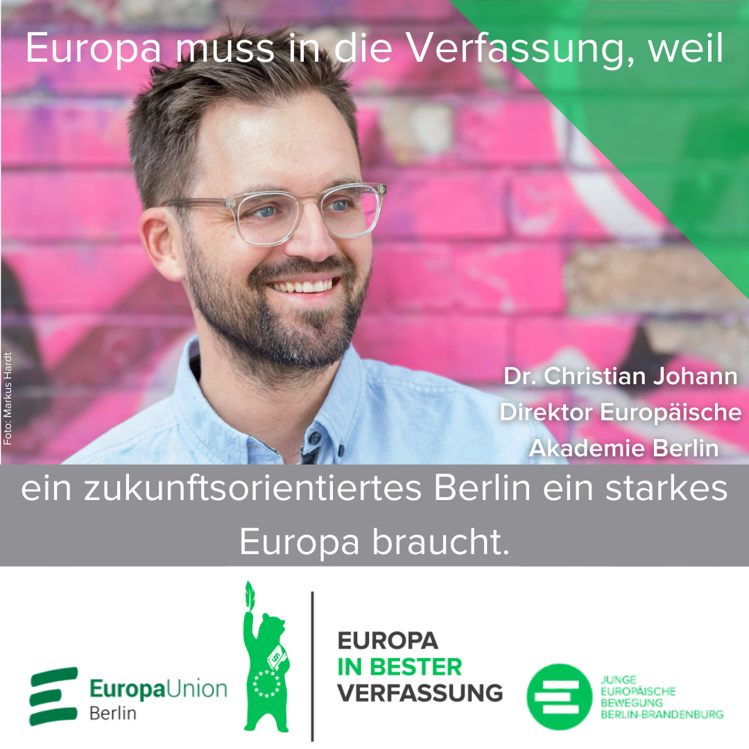 Share-Pic Dr. Christian Johann, Direktor der Europäischen Akademie Berlin