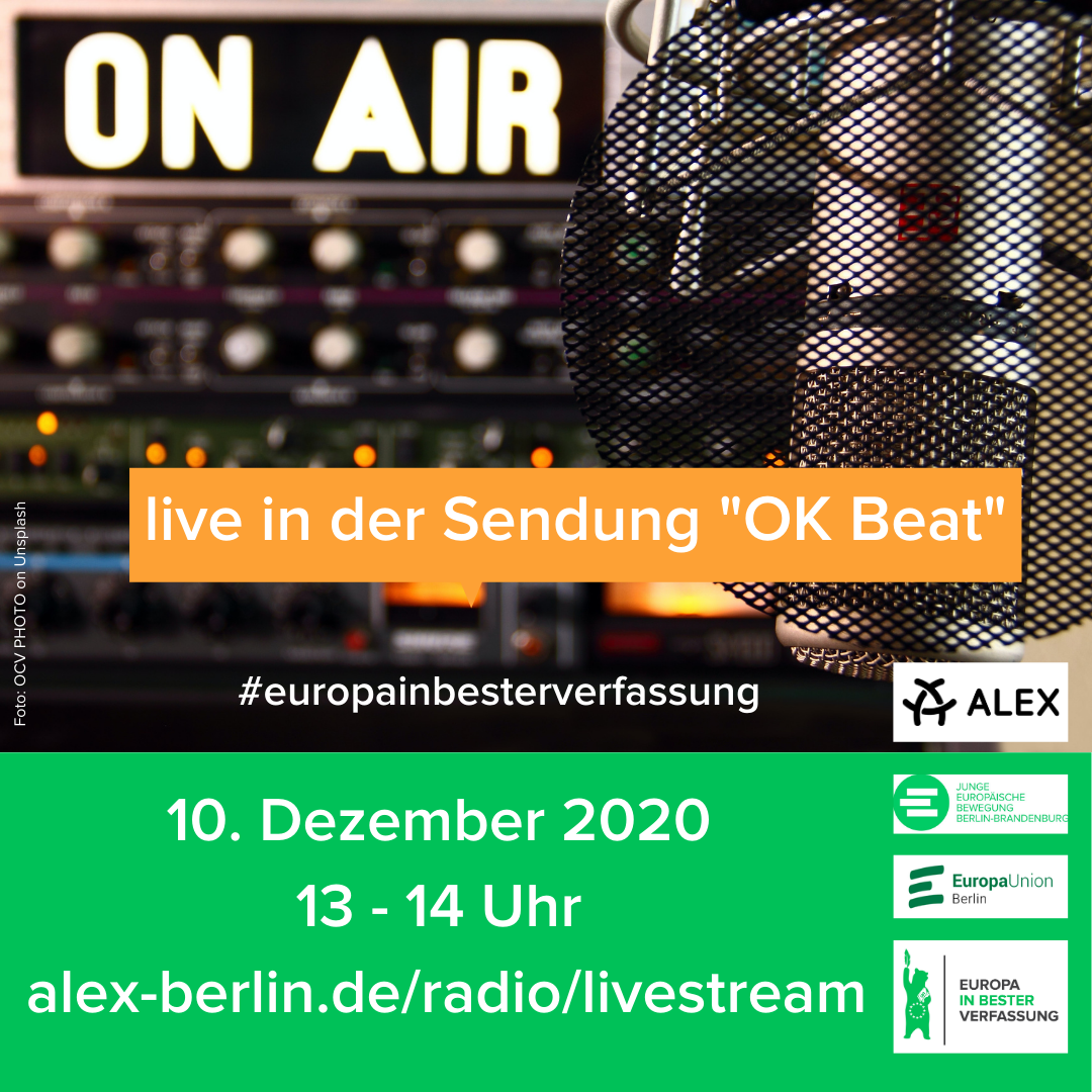 Live on Air bei Alex Berlin